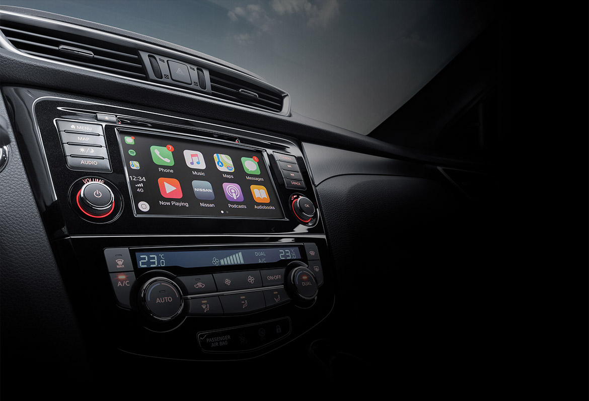 Nissan Qashqai - Apple CarPlay